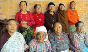 Elderly People Home members (Bethany Ashram)