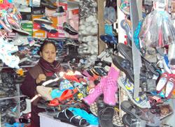 Income Generation Program (shoe shop run by a member)